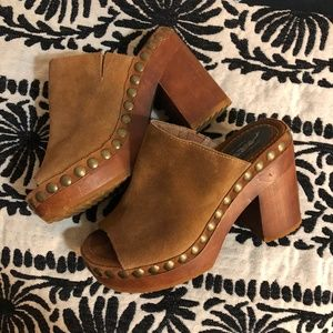 Jeffrey Campbell Free People Platform Mule Clogs